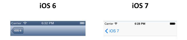 InnovationM iOS 6 to iOS 7 Navigation Bar
