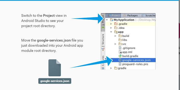 move google_services.json