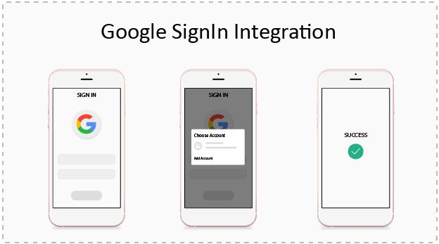 Google SignIn Integration