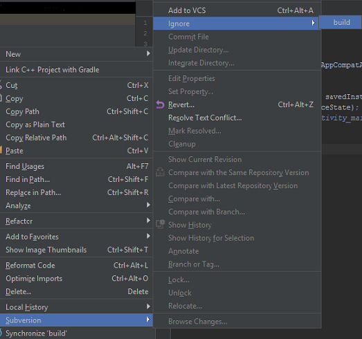 Version Control of Android Studio Project via SVN - DZone Open Source